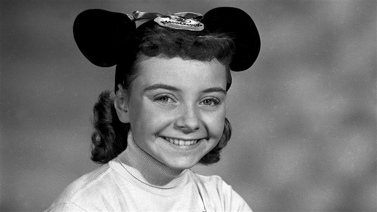 Ovaj undated photo shows Disney Mouseketeer Doreen Tracey. Tracey, a former child star who played one of the original cute-as-a-button Mouseketeers on