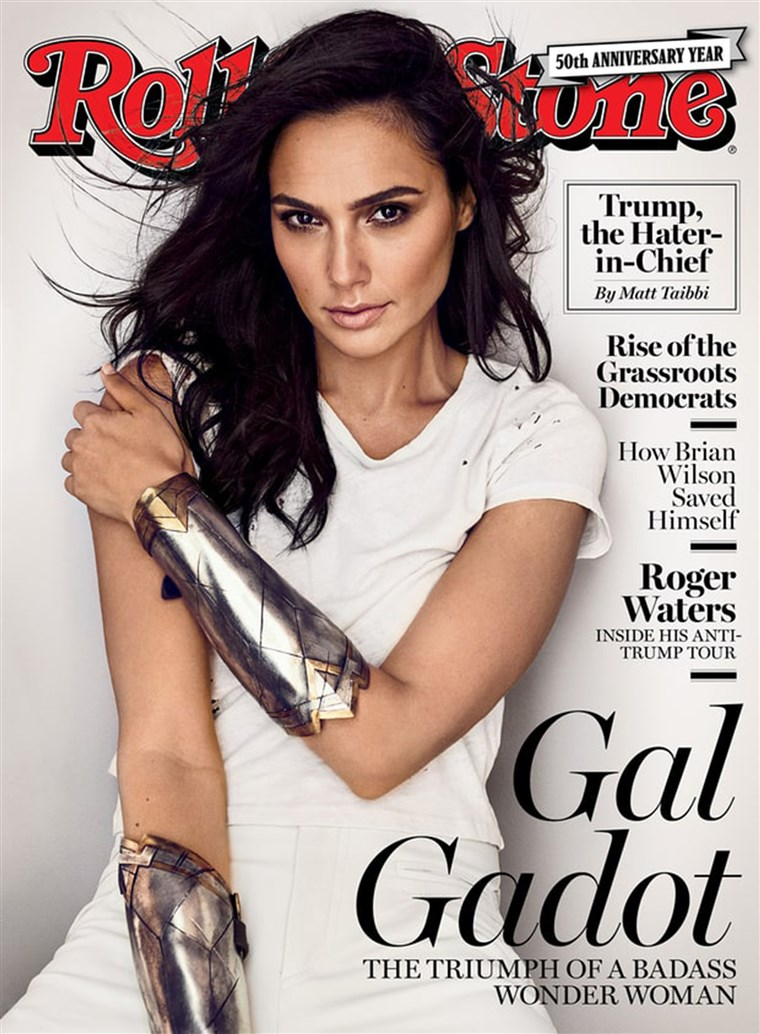 लड़की Gadot, Rolling Stone Cover - September 2017