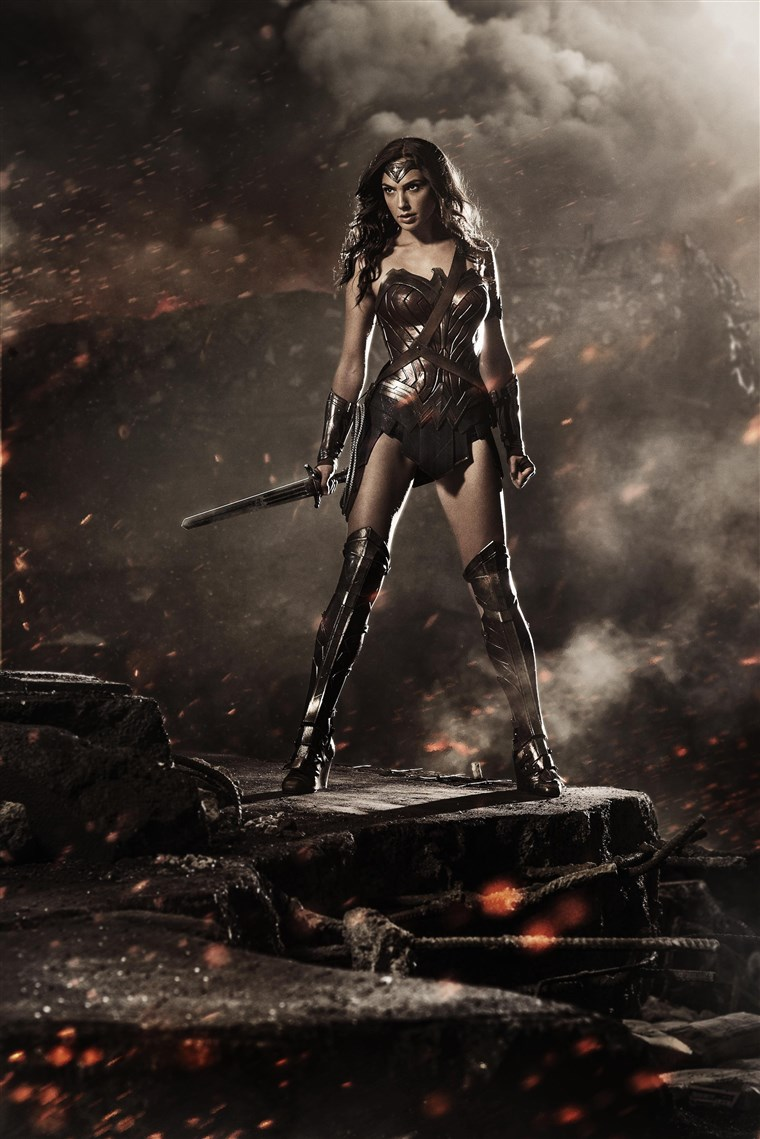 लड़की Gadot as Wonder Woman