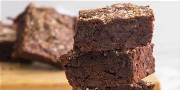 नमकीन Dark Chocolate Chunk Brownies