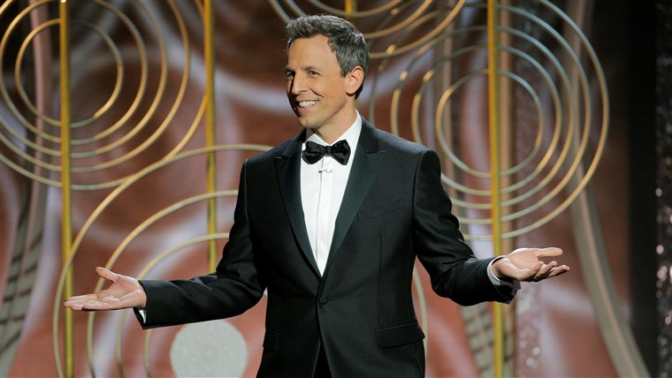 Slika: Seth Meyers hosts the 75th Golden Globe Awards in Beverly Hills, California,