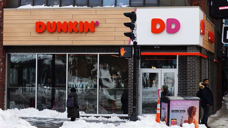 תמונה: Changes at Dunkin Donuts
