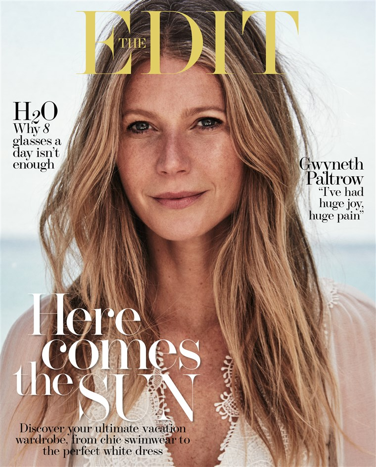 גווינת Paltrow opened up to The EDIT about her divorce from Coldplay frontman Chris Martin.