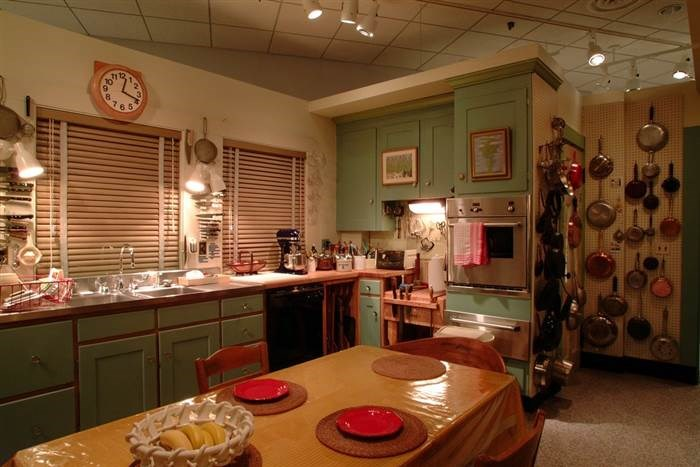 Julia Child's iconic kitchen