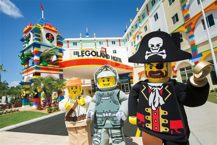 הטוב ביותר US family hotels: Legoland California Hotel