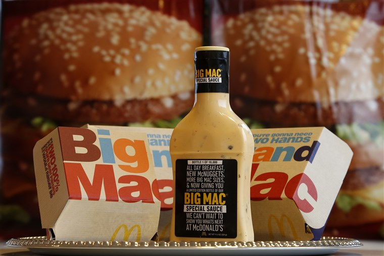 McDonald's Big Mac Special Sauce