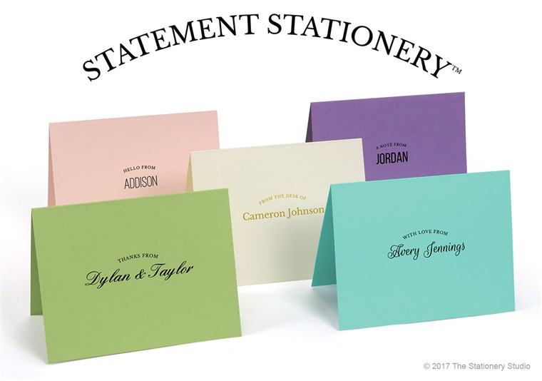 बनाना a Statement Stationery