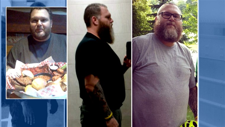 נהג משאית lost 65 pounds by cooking vegan meals on the road