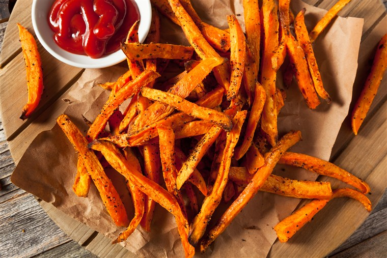 pečen sweet potato fries