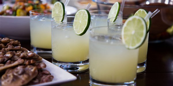 Smollett Siblings' Ginger Ale Margarita