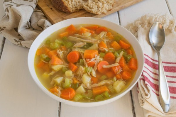 Csirke soup recipe by TODAY Food Club member Janette Fuschi