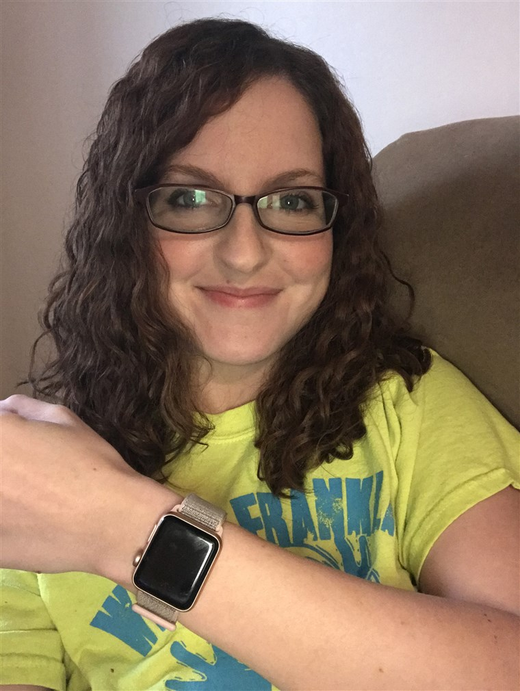 Nélkül her Apple Watch, Heather Hendershot might not have learned that she had hyperthyroidism until her health was in serious danger.