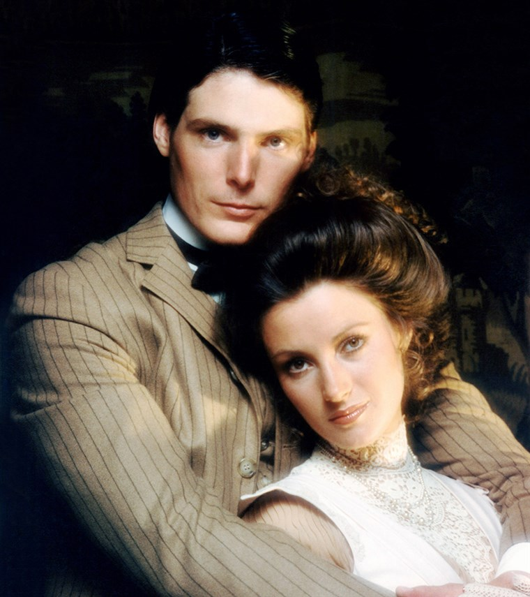 VALAHOL IN TIME, from left: Christopher Reeve, Jane Seymour, 1980