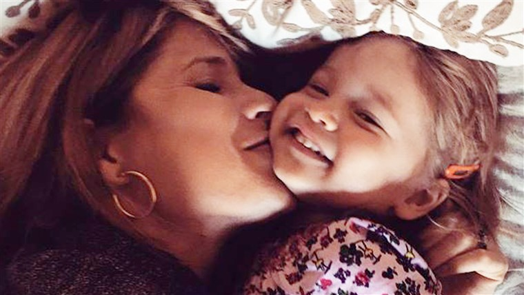 Jenna Bush Hager with her daughter