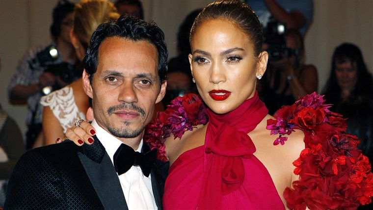 Kép: File photo of Marc Anthony and wife Jennifer Lopez arriving at the Metropolitan Museum of Art Costume Institute Benefit in New York