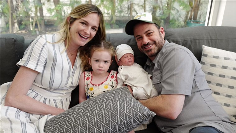 Jimmy Kimmel and family.