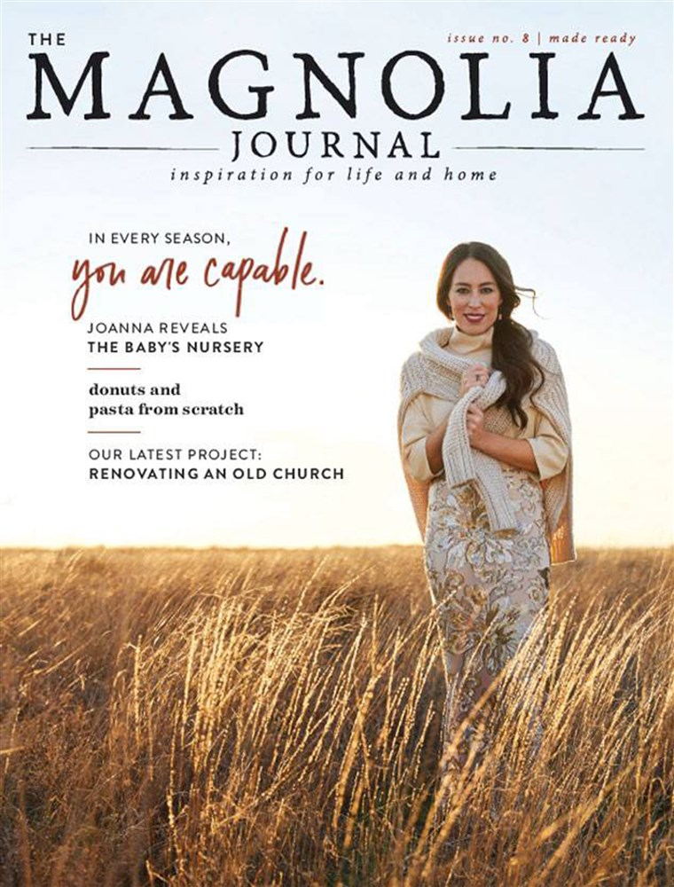 Magnolia Journal fall issue with Joanna Gaines