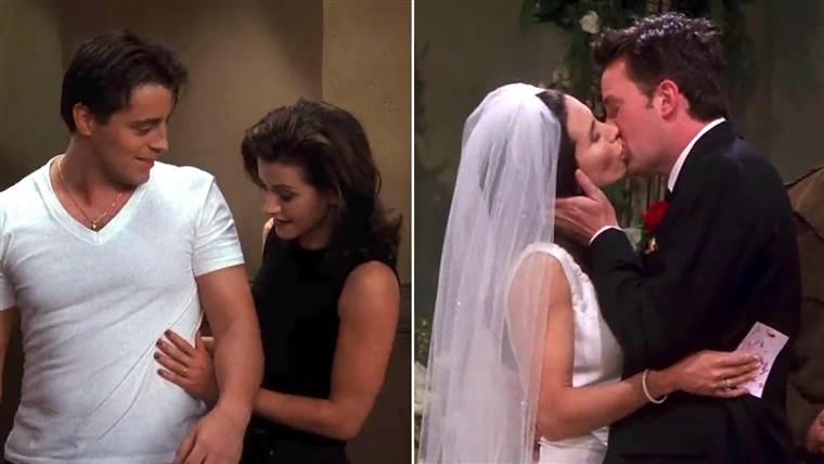 mikor először csatlakoznak Chandler és Monica ázsiai lány randi amerikai srác