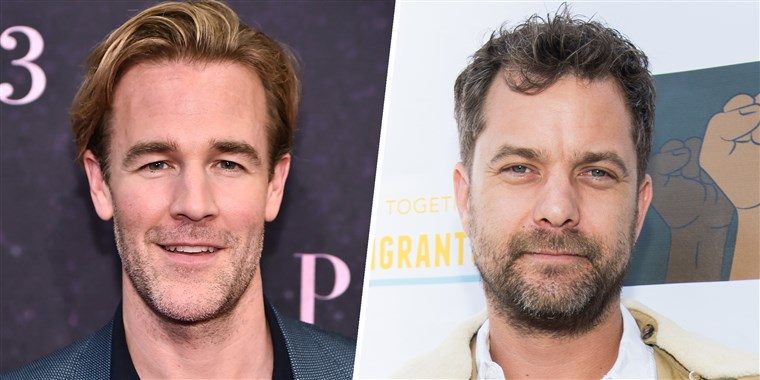 יהושע Jackson and James Van Der Beek