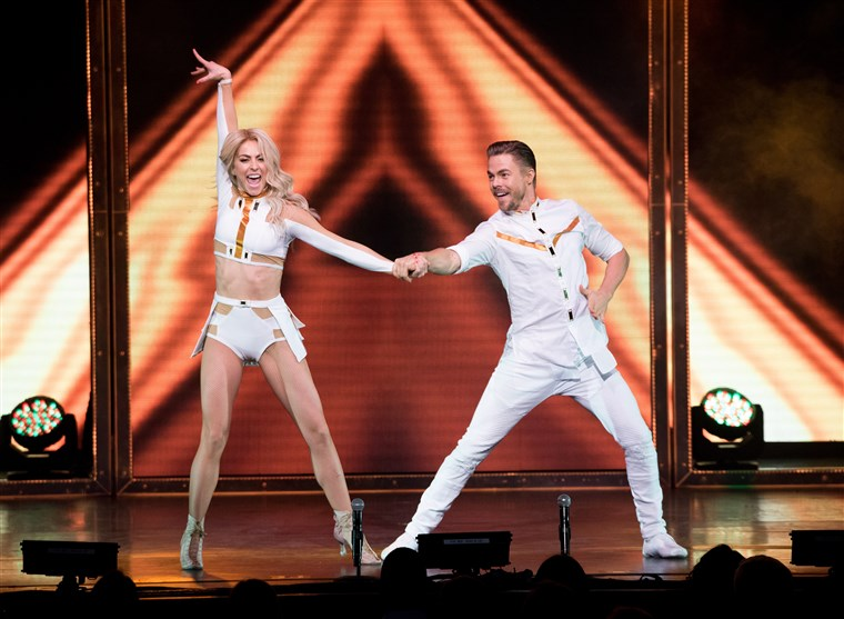 Julianne And Derek Hough Move Beyond Live On Tour - New York, New York