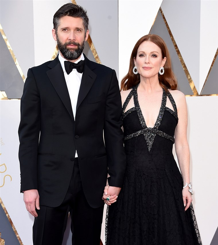 Julianne Moore and husband Bart Freundlich