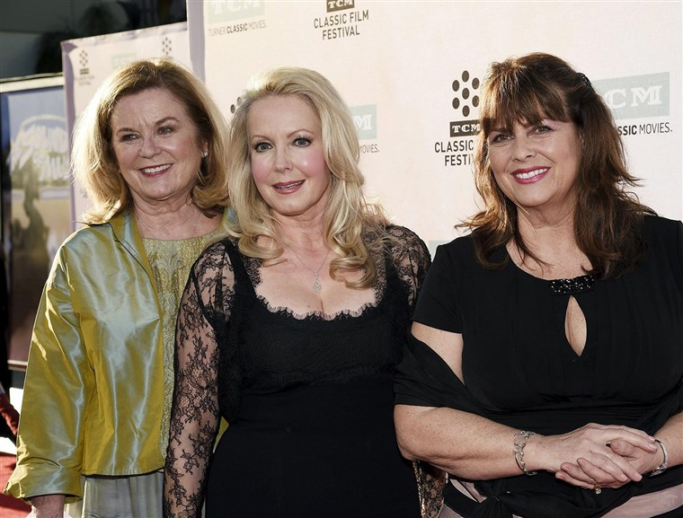 Slika: Cast members actresses Heather Menzies-Urich, Kym Karath and Debbie Turner pose during 50th anniversary screening of musical drama film
