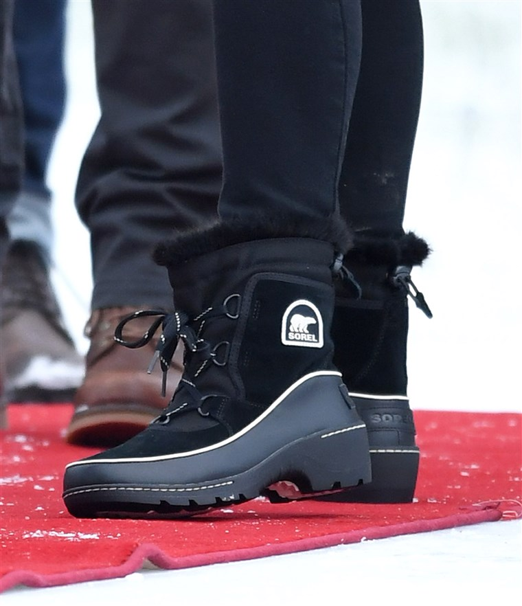 Kate Duchess of Cambridge, wore Sorel boots