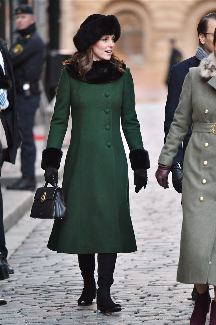 Kate Duchess of Cambridge, visits Sweden on day 1