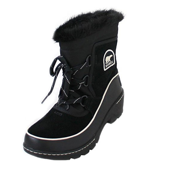 Sorel boots in black