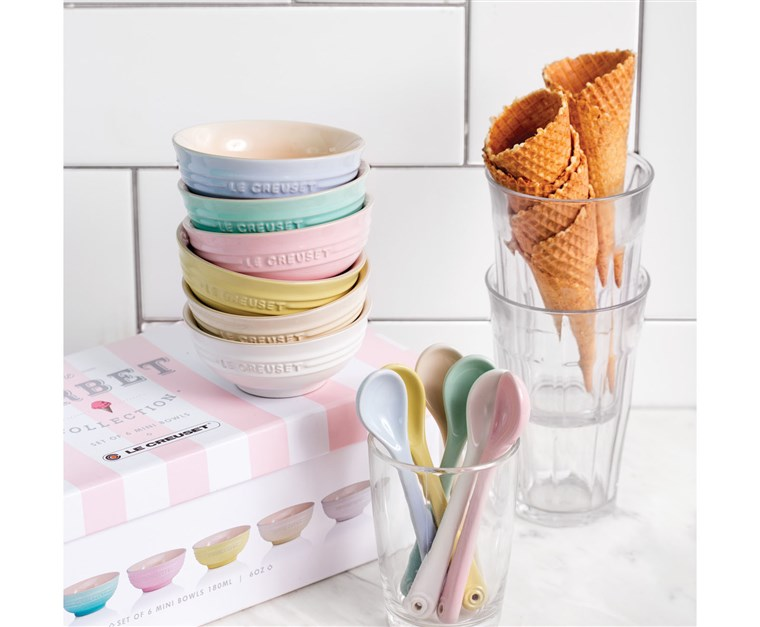 Le Creuset's new, affordable Sorbet Collection