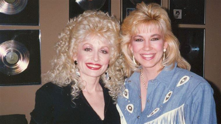 lutkica Parton and Leeza Gibbons