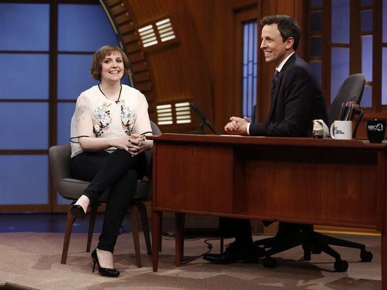 Lena Dunham, Late Night With Seth Meyers