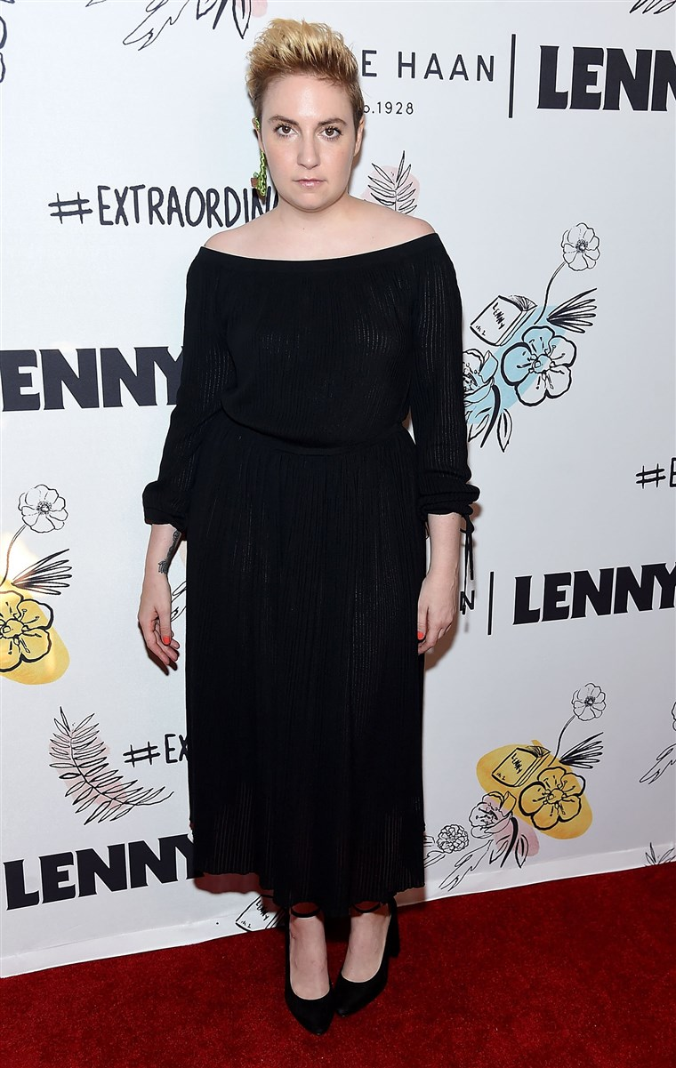 Lena Dunham at Lenny 2nd Anniversary Party