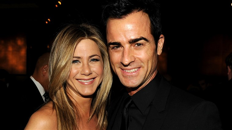 ג 'ניפר Aniston and Justin Theroux
