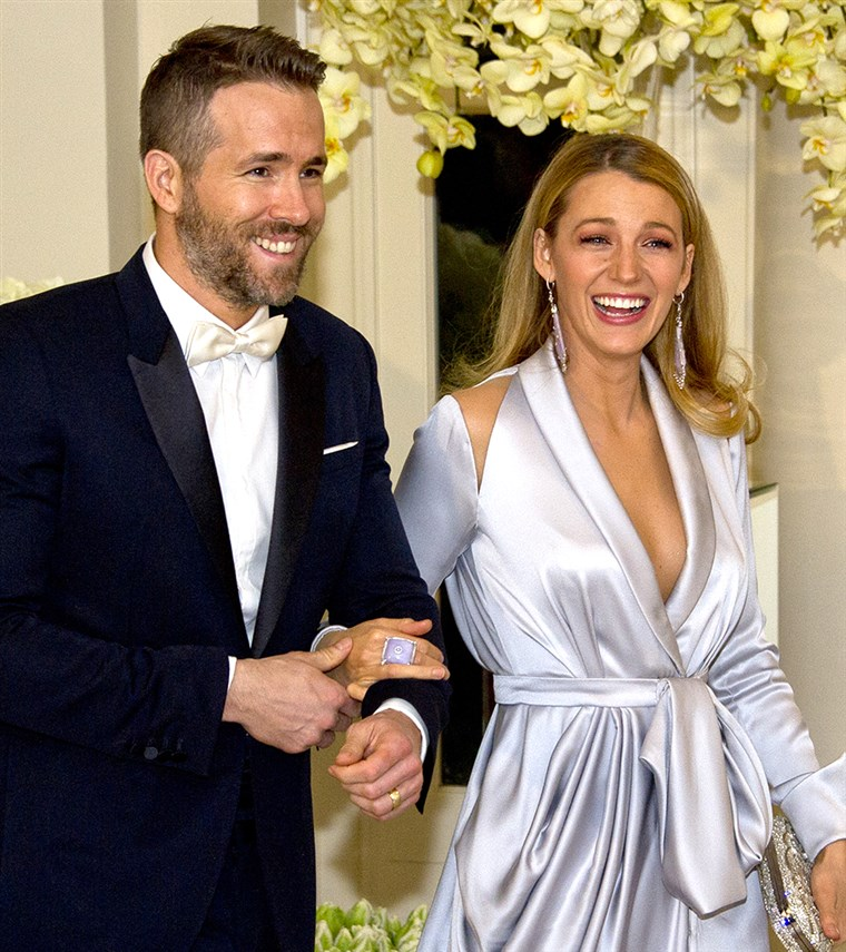 ראיין Reynolds and Blake Lively