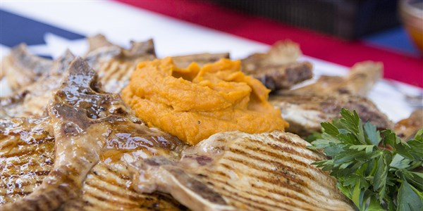 Napos Anderson's Simple Roasted Sweet Potato Mash