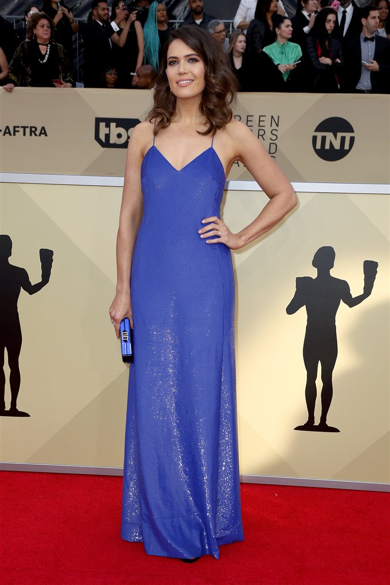 मैंडी Moore SAG Awards photo