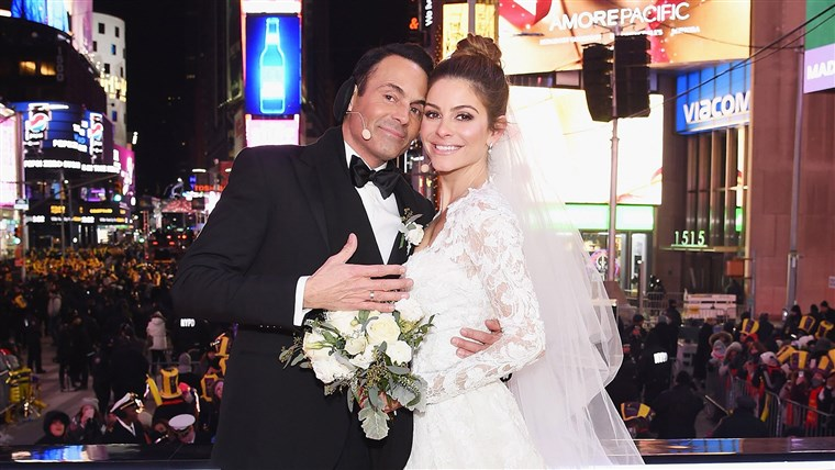 छवि: BESTPIX: Maria Menounos and Steve Harvey Live from Times Square