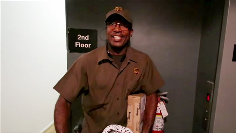 Marlan Franklyn might be the most famous delivery man on Earth