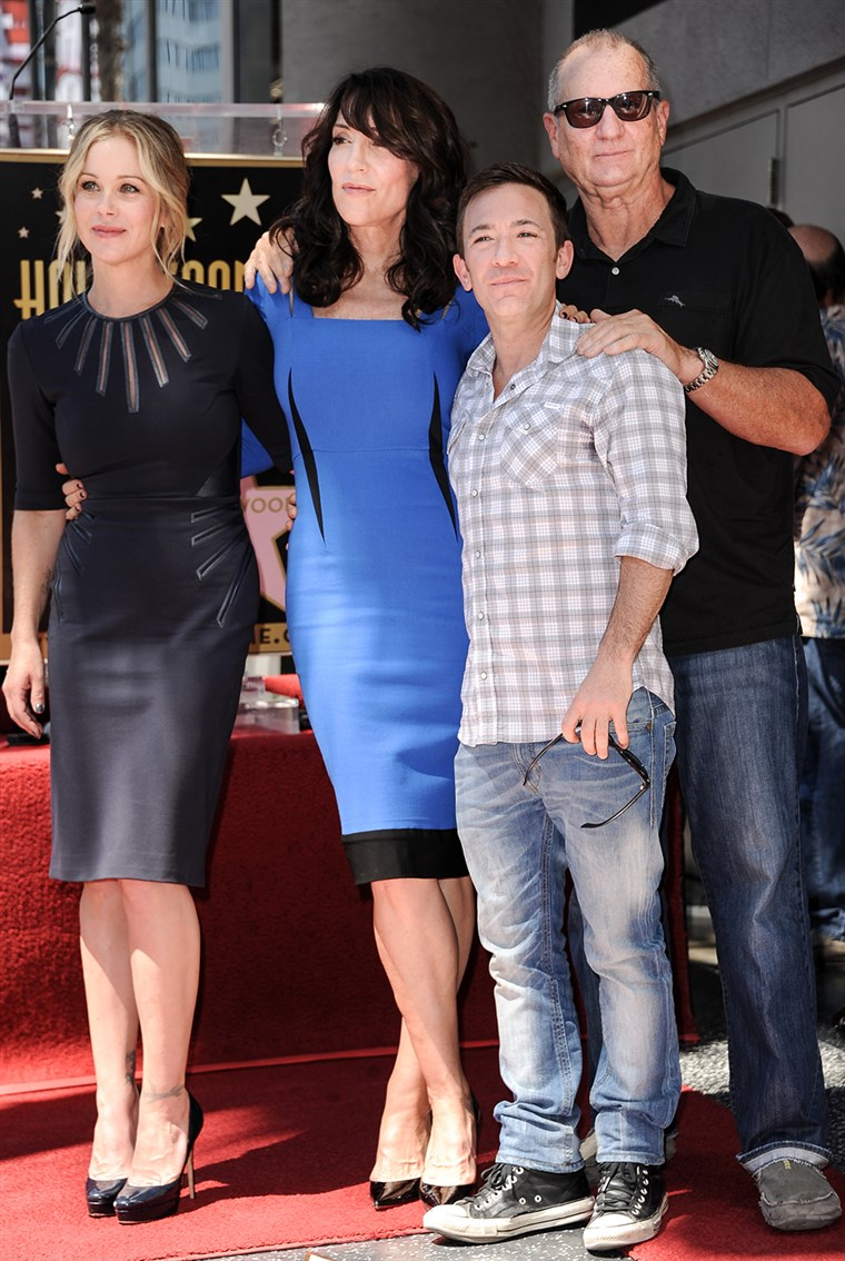 Kép: Christina Applegate, Katey Sagal, David Faustino, and Ed O'Neill from