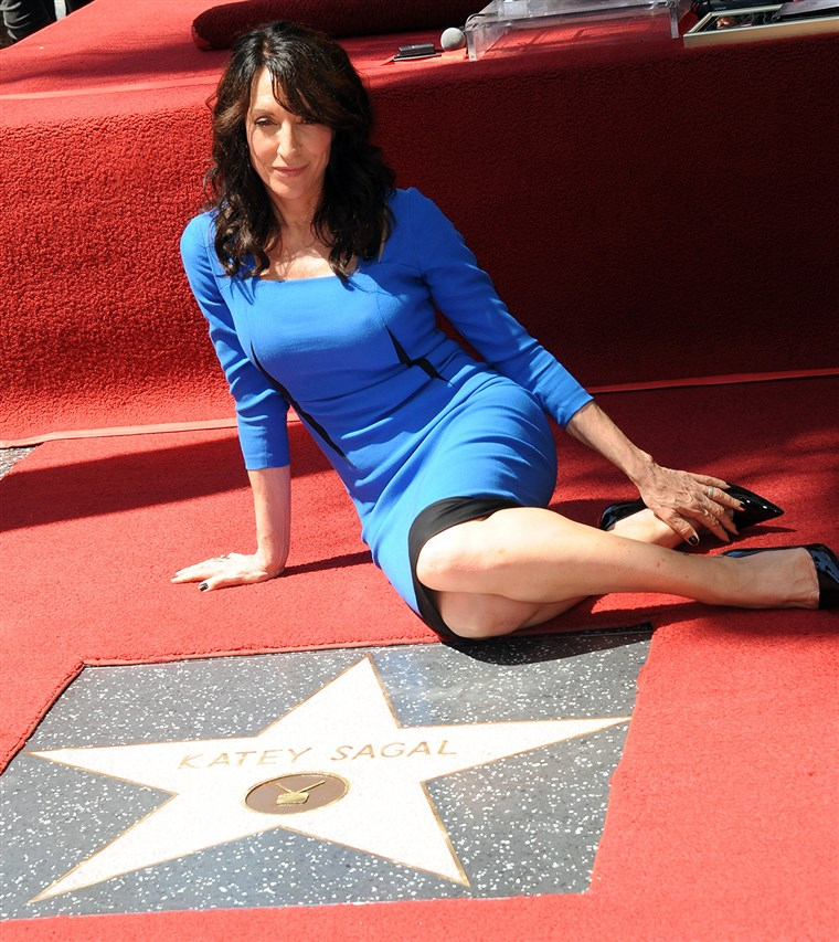 Kép: Katey Sagal is honored with a star on The Hollywood Walk Of Fame.
