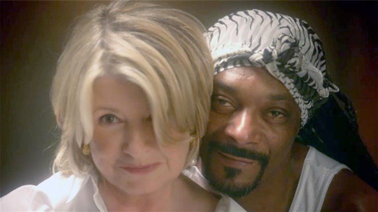गुप्तचर and Martha Stewart from their Ghost re-enactment.