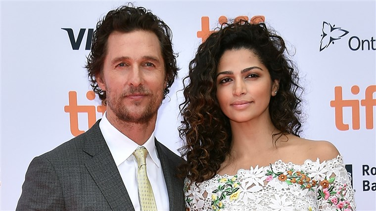 मैथ्यू McConaughey and Camila Alves
