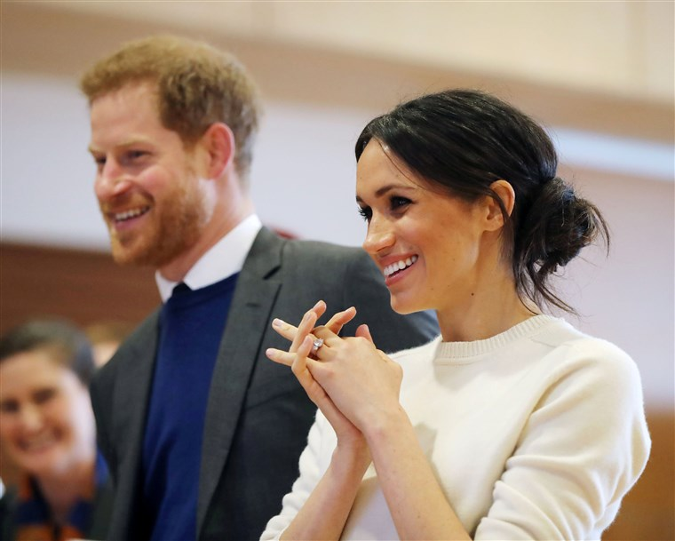 Meghan Markle and Prince Harry royal visit to Northern Ireland
