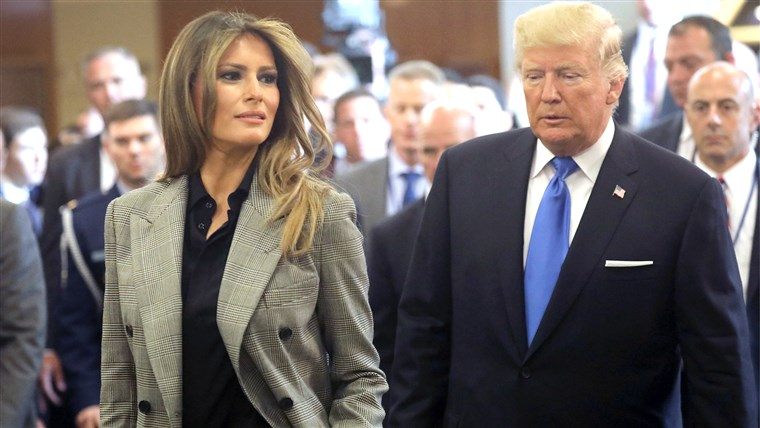 נשיא Trump Arrives At The United Nations To Address The General Assembly
