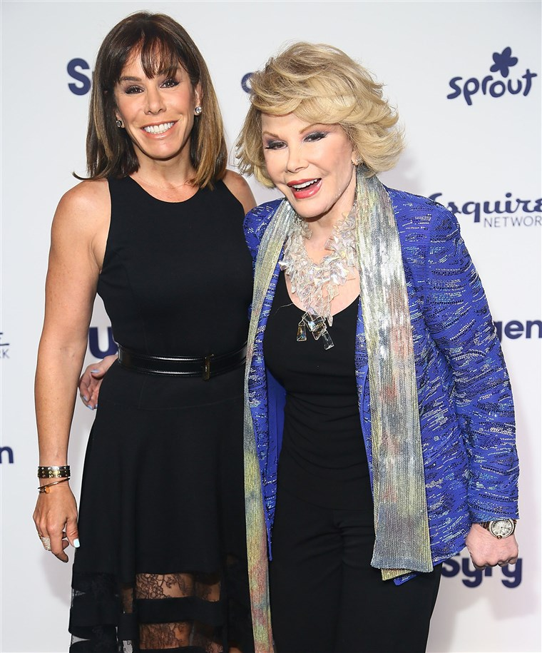 Méhfű Rivers and Joan Rivers
