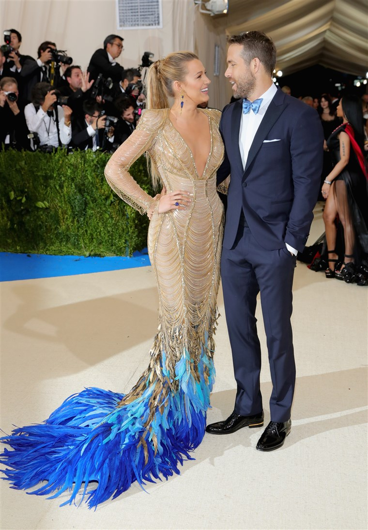 בלייק Lively Ryan Reynolds Met Gala