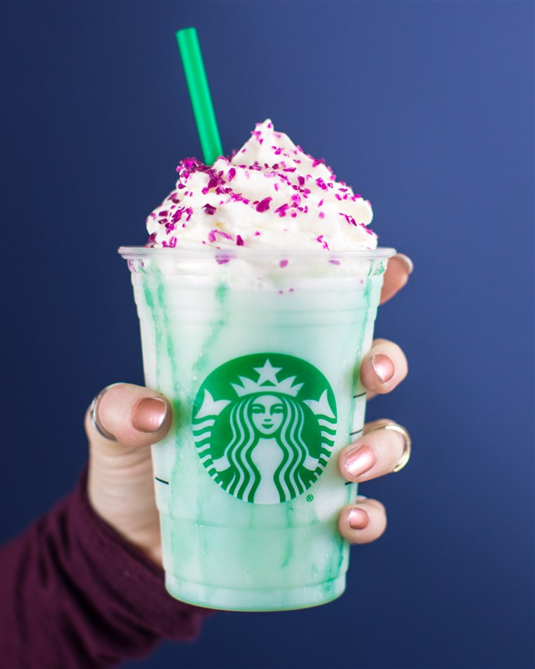 Crystal Ball Frappuccino will only be available for four days.