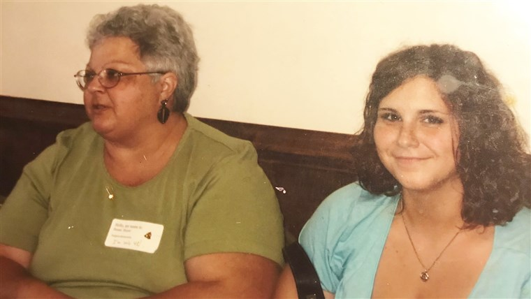 Susan Bro and Heather Heyer, when Heather was about 18.