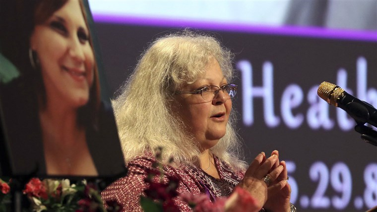 Slika: Memorial Held In Charlottesville For Heather Heyer, Victim Of Car Ramming Incident During Protest After White Supremacists' Rally